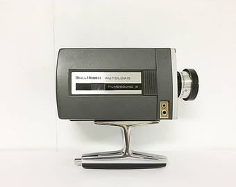 Bell & Howell Autoload Filmosound 8 8mm Vintage Home Movie Camera