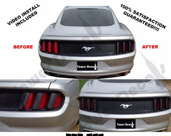 2015 Ford Mustang Tail Light Blackout Vinyl Graphics Kit 5.0l Coyote Gt ECOBOOST