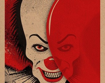 Pennywise the Clown (classic version) print 11x17