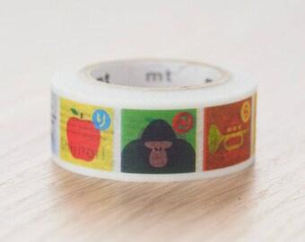 Shiritori washi tape | MT Masking Tape Summer Collection 2017 MT for Kids washi tape (MT01KID029)