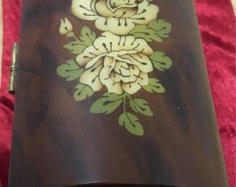 Italian Reuge Inlaid wood Music box, 'Furlise'