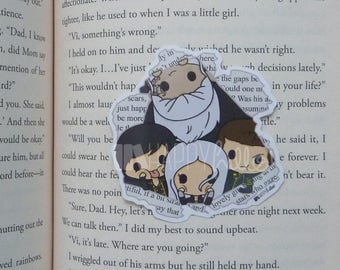 Sticker • From the Pages of a Book 2