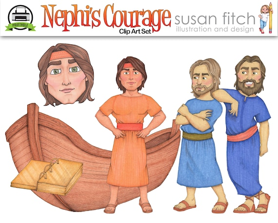 Nephi's Courage Clip Art Set