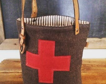 Red Cross Tote