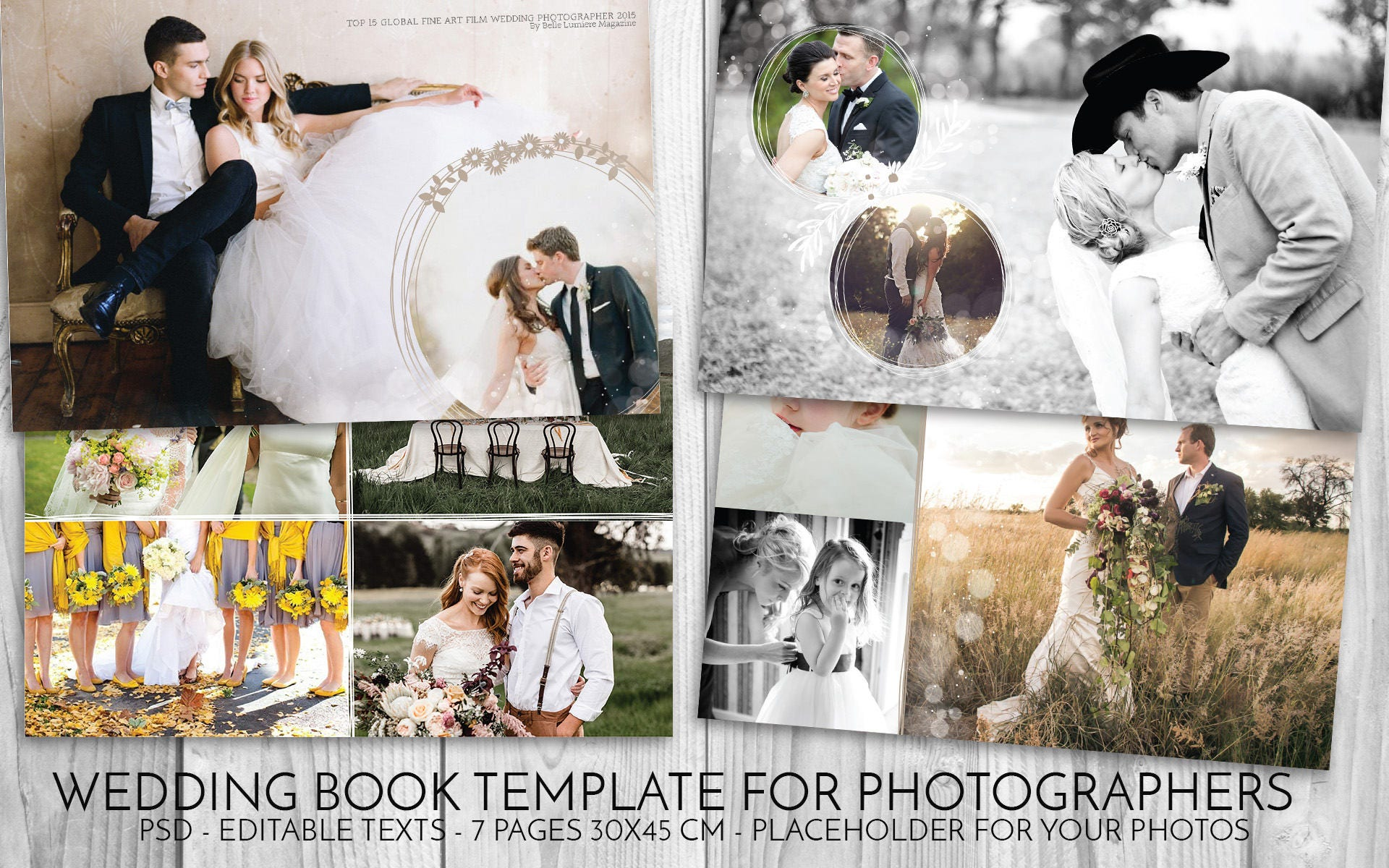 wedding book template