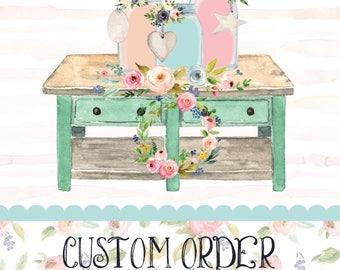 Custom Sola Bouquet & Boutonniere