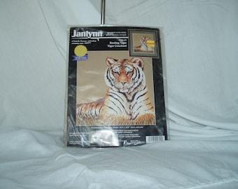 tiger cross stitch