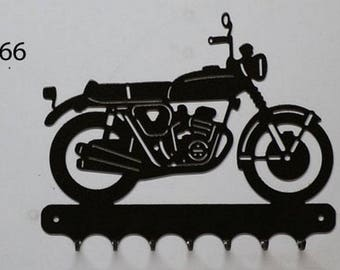 Hangs 26 cm pattern metal keys: motorcycle Honda CB 750
