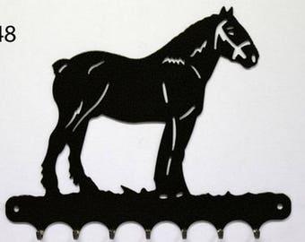 Hangs 26 cm pattern metal keys: heavy horse