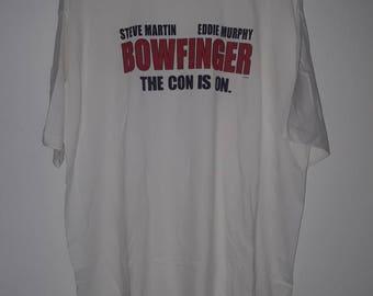 Vtg 90s BOWFINGER Eddie Murphy Movie Promo Deafstock XL T Shirt