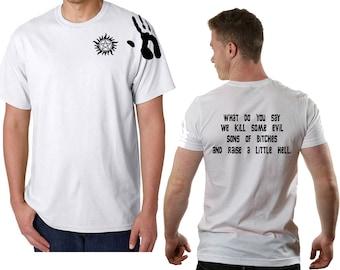 Supernatural T-Shirt Details