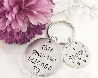 Mum keyring - Mother's Day gift - Grandma keychain - Gifts for mum - Gifts for nan - Gifts for her - Gifts for Stepmum - Stepmom gifts