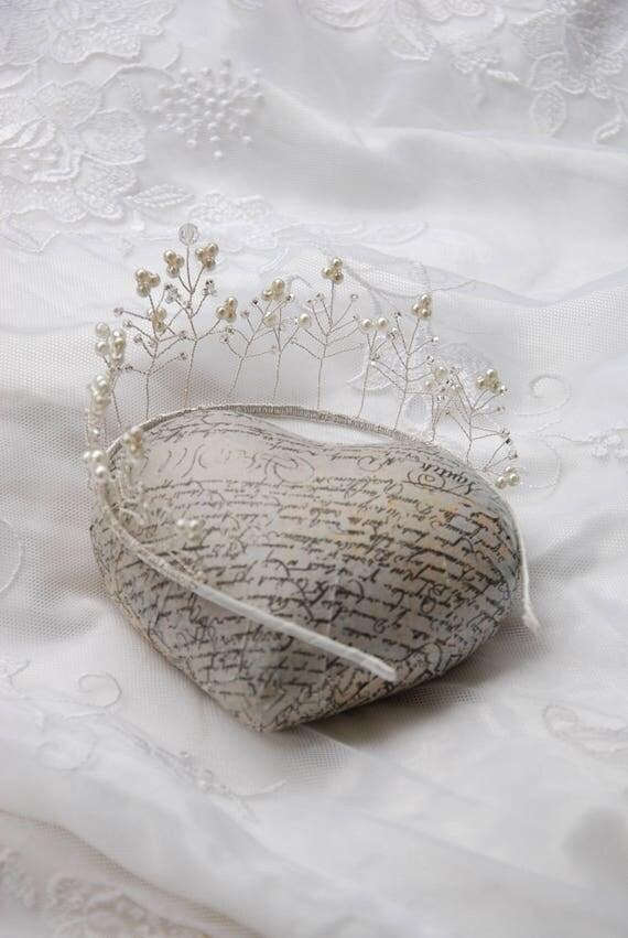 Beaded bridal tiara; wedding tiara;bridal tiara