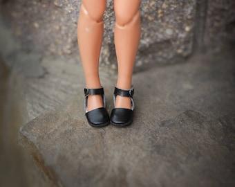 Blythe shoes, doll blythe yellow flats by Blablablythe