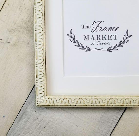 Rionach Custom madera marco en blanco, oro, negro 8 x 10, 9 x 12, 11 ...
