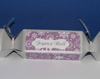 Purple candy box