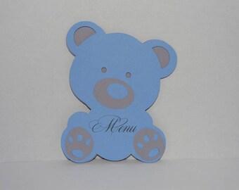 Petite little blue bear hug