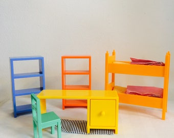 Vintage doll house furniture doll house furniture IKEA Huset rare dollhouse furniture vintage poppenmeubeltjes