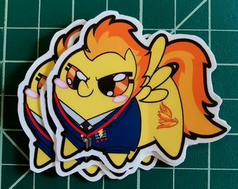 Pony Chubs! Spitfire Sticker
