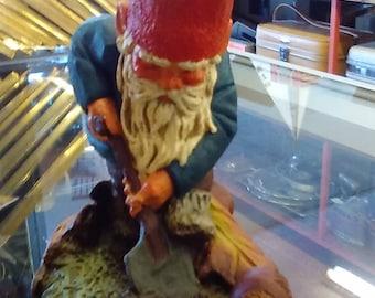 "Tobias--- collectible Gnome 5 1/2"" tall"