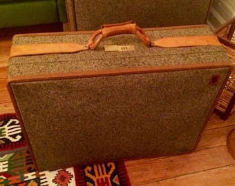 Tweed luggage | Etsy