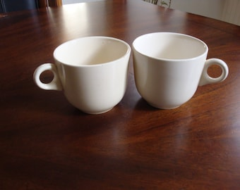 Homer Laughlin Antique Ironstone Cups (2)!