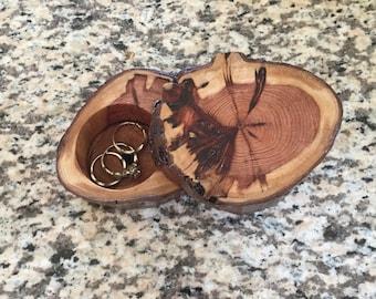 Redwood Ring Box Large