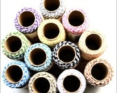 10 metres Baker's Twine, 12 colourways, craft twine, UK seller, made in England, Everlasto, gift wrap, craft string, cardmaking, papercrafts