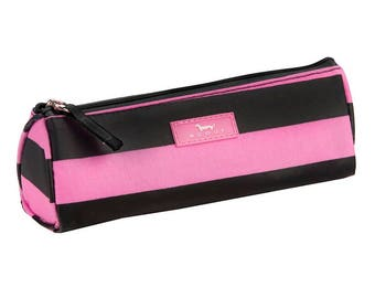 SCOUT Penterest Case in Patty Cake Pink Pattern/Pencil Case/Back to School/Makeup Brushes/Accessories/Gift