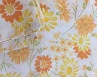 Vintage Queen Bed Bedding Sheet Set