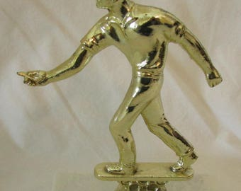 Recycled Dartball Player Player Trophy Topper (Figurine)
