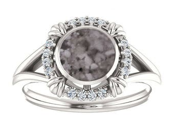 Cremation Ring - Sterling Silver Cremation Ring - Cremation Jewelry - Ash Ring - Ash Jewelry - Urn Ring - Urn Jewelry - Pet Loss
