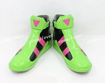Kamen Rider Ex-Aid Exaid Genm Cosplay Shoes