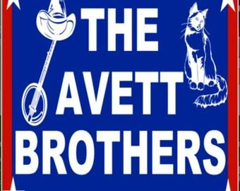 Avett Brothers Sticker