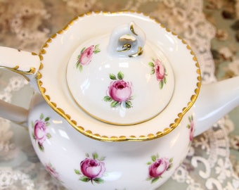 VSC Hand Painted Tea for One with Roses