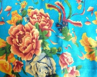 Traditional Chinese blue LAO HUA 3 m fabrics