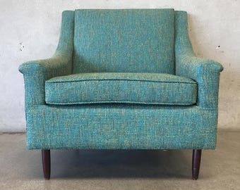 Refurbished Vintage Mid Century Chair (B2Y1WV)