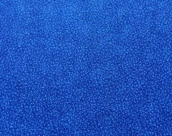 1 yard - blue, dark blue, Fabric Traditions/N.T.T. - 100% cotton fabric