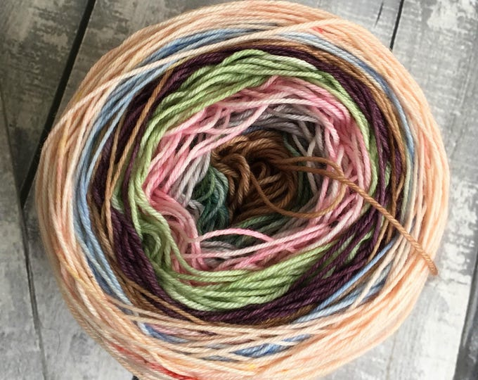 Featured listing image: Hand Dyed Yarn - Fairy Cakes, Gradient Yarn,Mini Skeins, Toad Hollow Yarns, Magic Yarn Ball, Sock Yarn, Hand Dyed Yarn Gradient,Indie Dyed