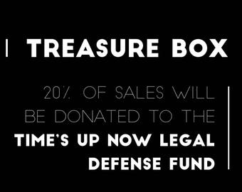 Treasure Boxes benefiting TIME'S UP NOW