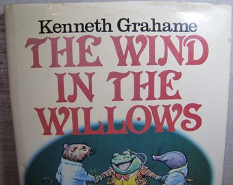 Vintage Book - The Wind in the Willows - 1983 Edition - Hardback