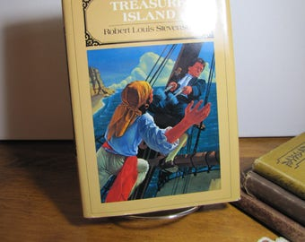 Vintage Book - Treasure Island - Robert Louis Stevenson - 1985 Edition