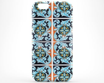 Morocco iPhone 8 Case Style iPhone X Case Blue iPhone 7 Case iPhone 8 Plus iPhone 6 Plus Case iPhone 5 6S Case iPhone SE Galaxy S8 Plus Case