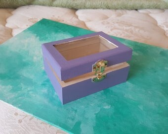 Lavender jewelry box