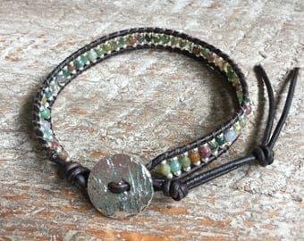 Karlie Beaded Wrap Bracelet