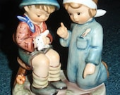 "Hummel Figurine ""LITTLE NURSE"" Goebel #376 - MINT Condition With Original Box - Cute Collectible Christmas Or Holiday Gift!"