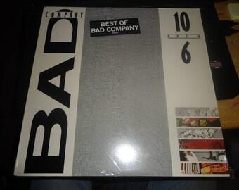 Bad Company - The Best Of Bad Company LP Record Vinyl Original 1985 Atlantic 81625-1