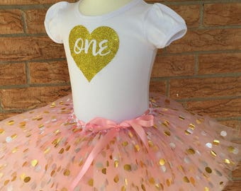 Girl's first birthday shirt, 1st birthday outfit, Girls 1 year old birthday, turning one tutu, girl's first birthday shirt, one year old