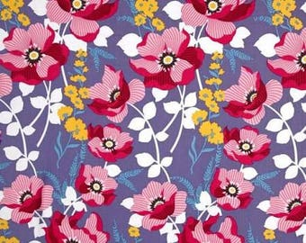 Monarch in Fuchsia, Atrium Collection by Joel Dewberry for Free Spirit Fabrics 4232  - listing for 1 Yard -  FM