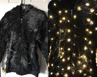 LED Light Festival Hooded Jacket
